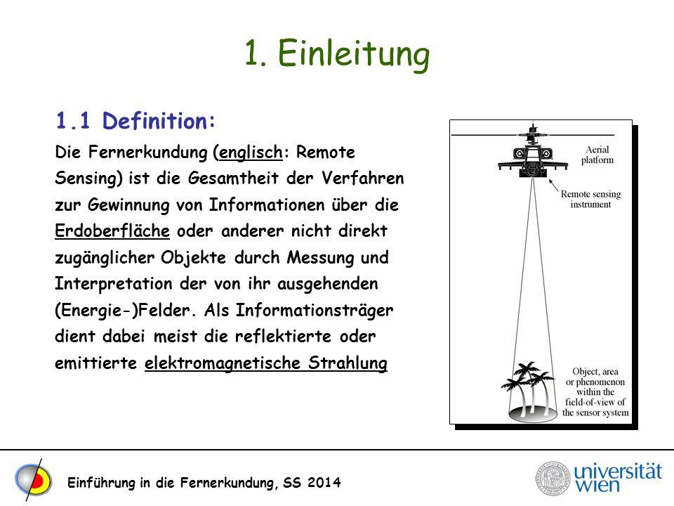 1. Einleitung 1.1 Definition: