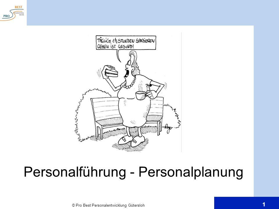 Personalführung - Personalplanung