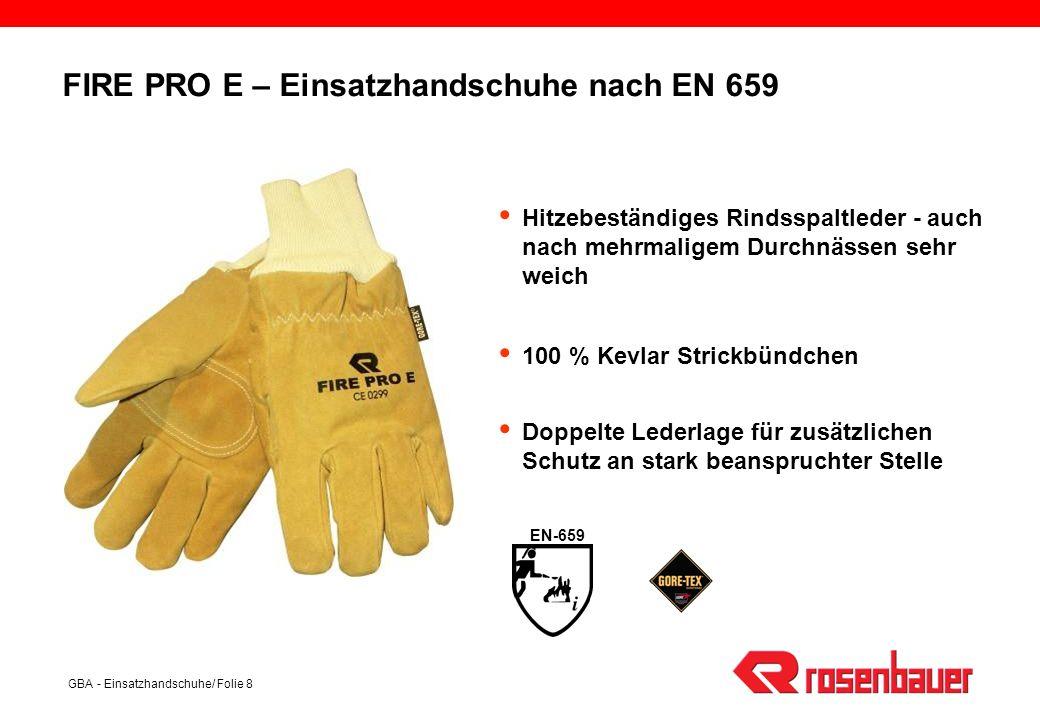 FIRE PRO E – Einsatzhandschuhe nach EN 659