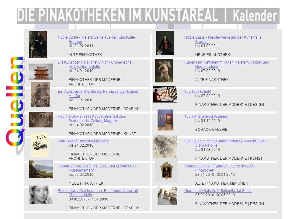 Noble Gдste - Meisterwerke aus der Kunsthalle Bremen bis 01. 02