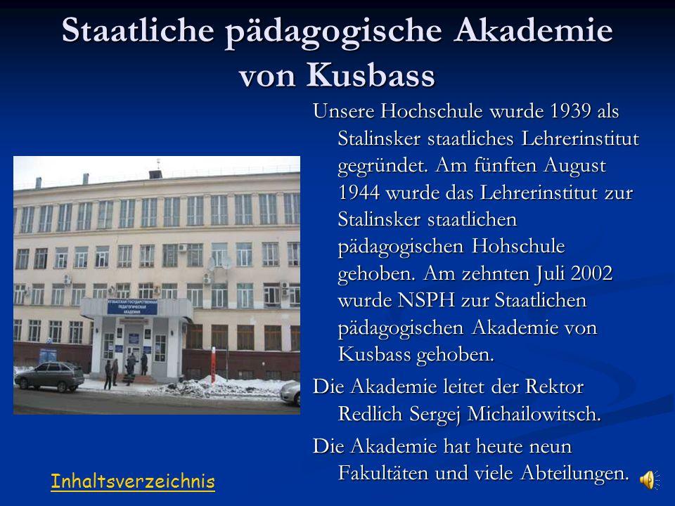 Staatliche pädagogische Akademie von Kusbass