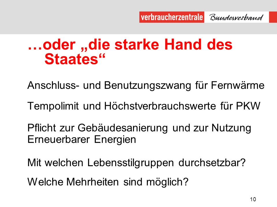 """…oder """"die starke Hand des Staates"""