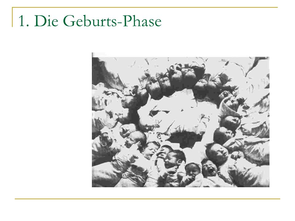 1. Die Geburts-Phase