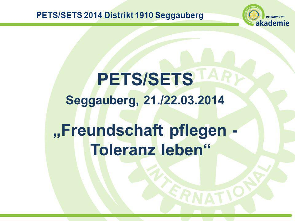 PETS/SETS 2014 Distrikt 1910 Seggauberg