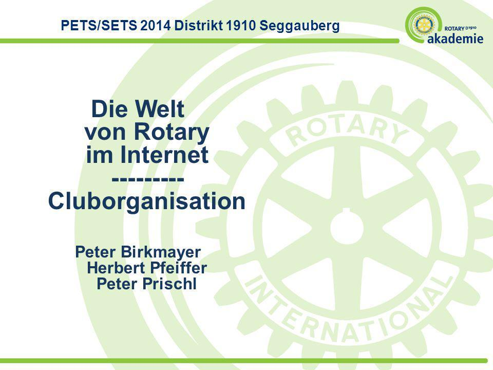 PETS/SETS 2014 Distrikt 1910 Seggauberg