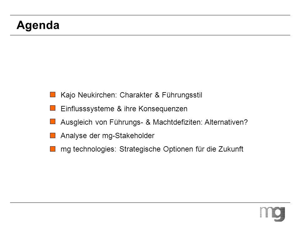 Agenda Kajo Neukirchen: Charakter & Führungsstil