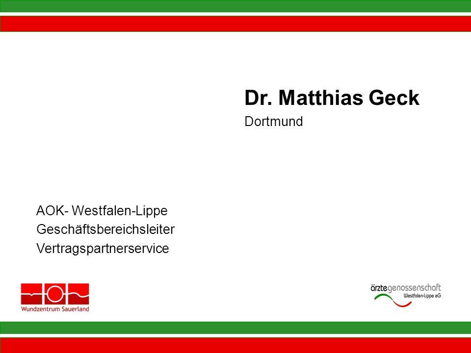 Dr. Matthias Geck Dortmund