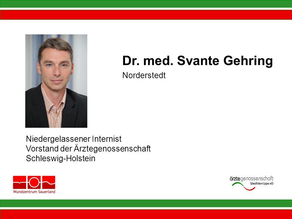 Dr. med. Svante Gehring Norderstedt Niedergelassener Internist
