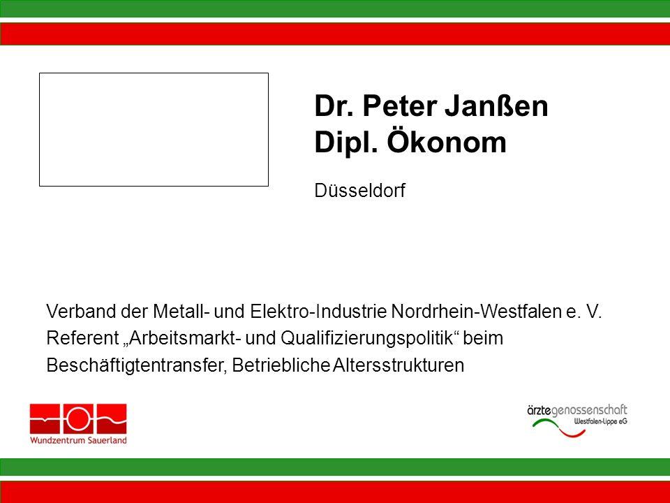 Dr. Peter Janßen Dipl. Ökonom Düsseldorf