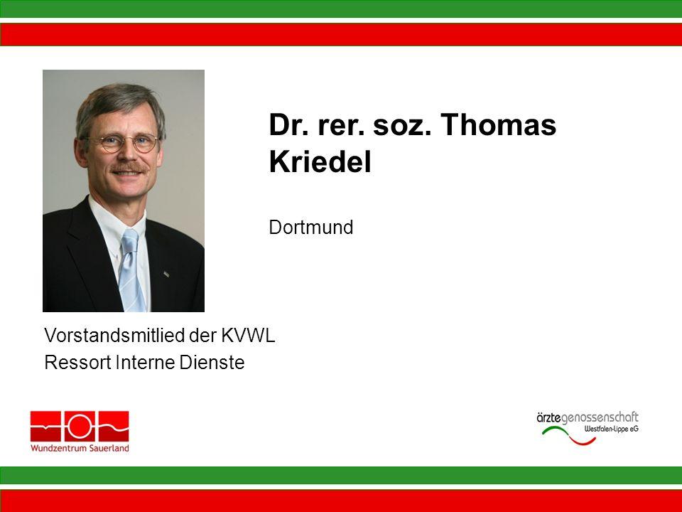 Dr. rer. soz. Thomas Kriedel