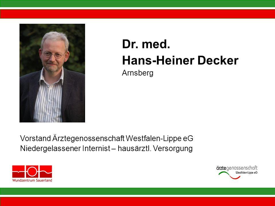 Dr. med. Hans-Heiner Decker Arnsberg