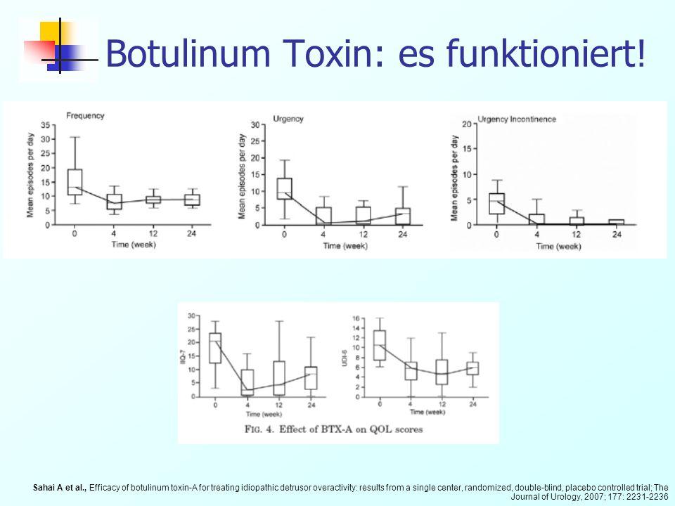 Botulinum Toxin: es funktioniert!