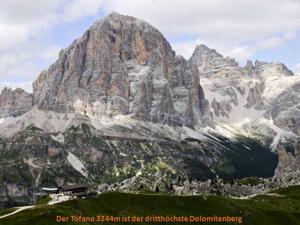 Der Tofano 3244m ist der dritthöchste Dolomitenberg