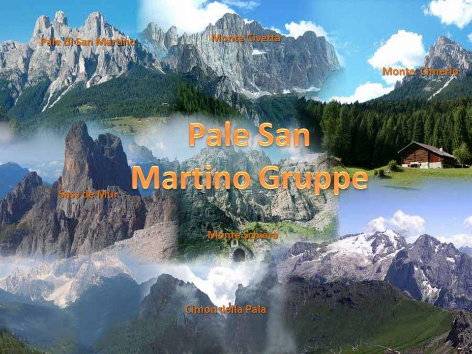 Pale San Martino Gruppe