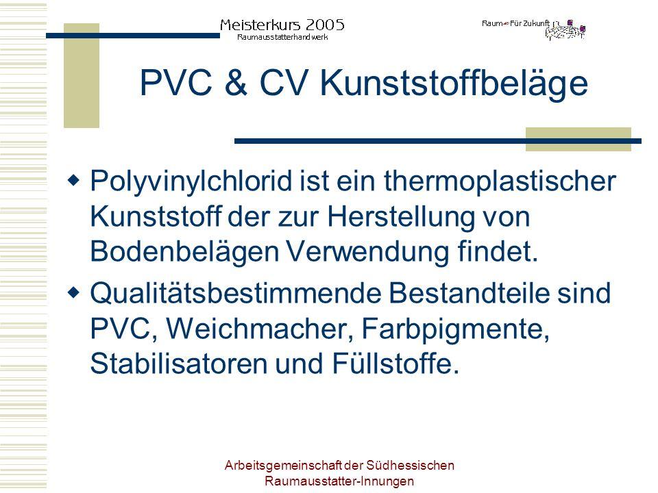 PVC & CV Kunststoffbeläge