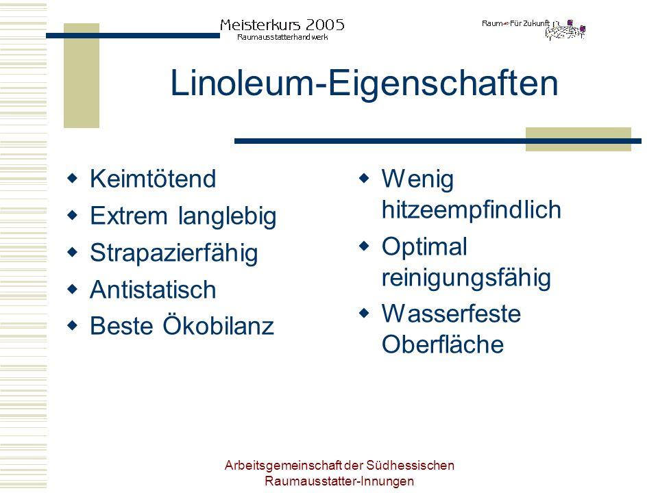 Linoleum-Eigenschaften