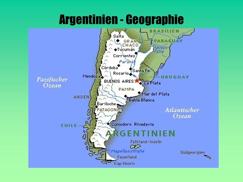 Argentinien - Geographie