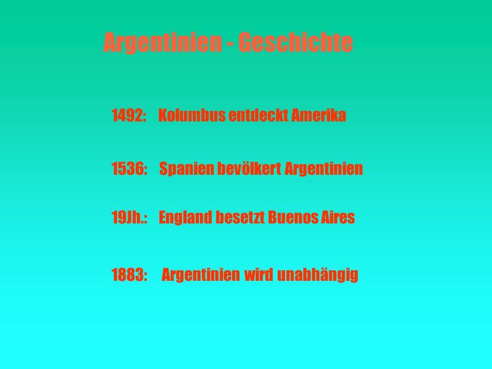 Argentinien - Geschichte