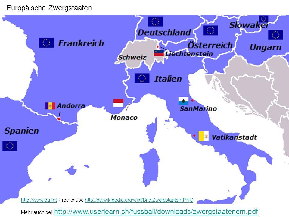 Europäische Zwergstaaten