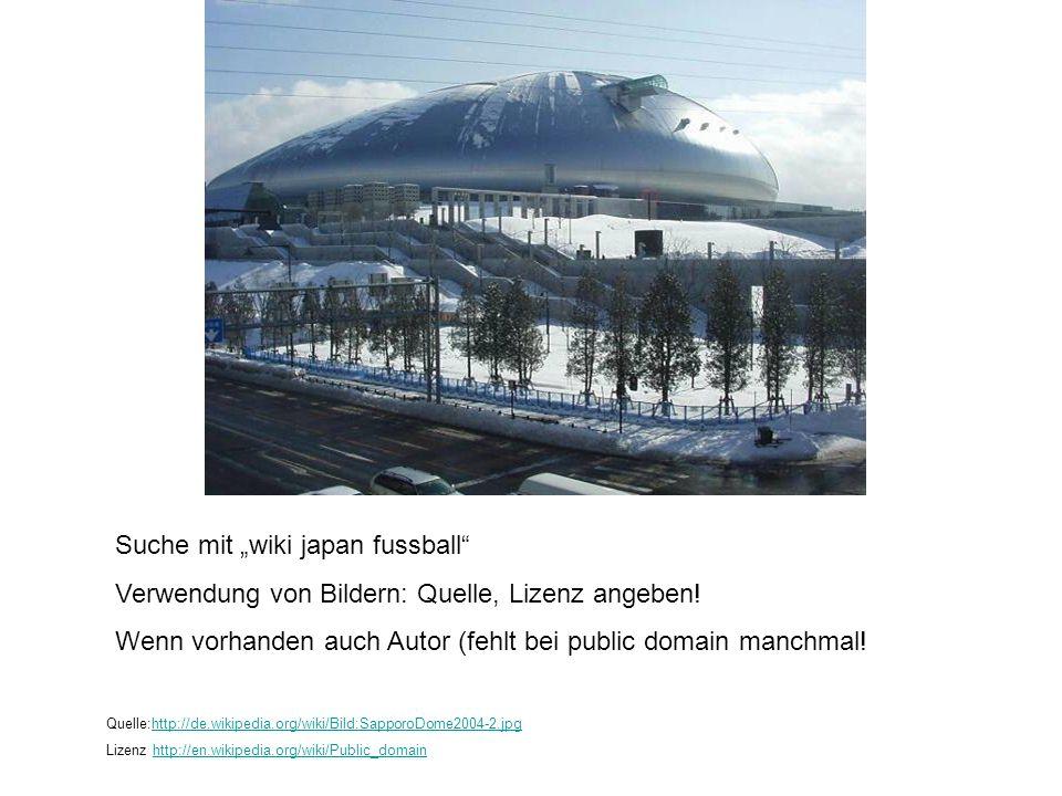 """Suche mit """"wiki japan fussball"""