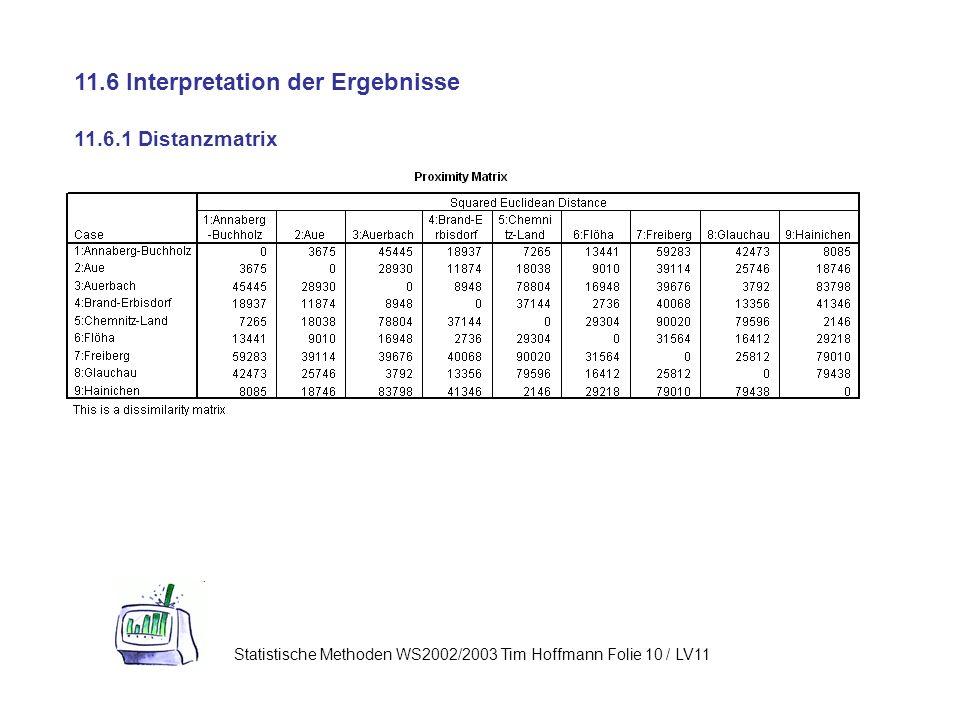 11.6 Interpretation der Ergebnisse