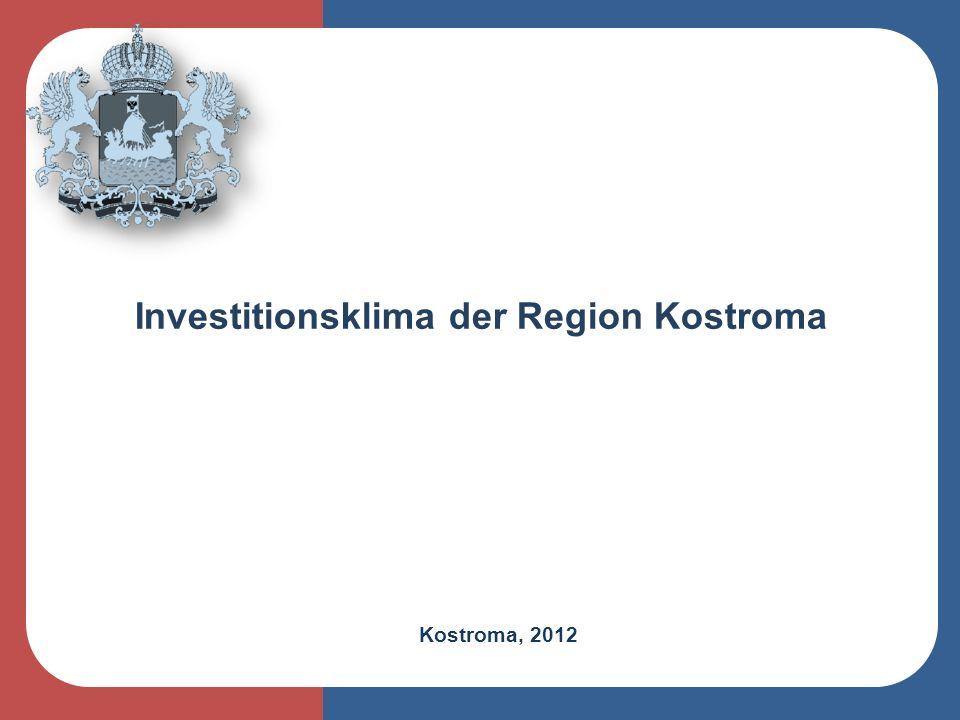 Investitionsklima der Region Kostroma