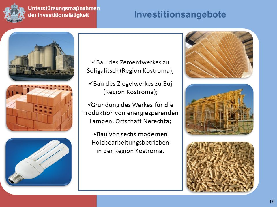 Investitionsangebote