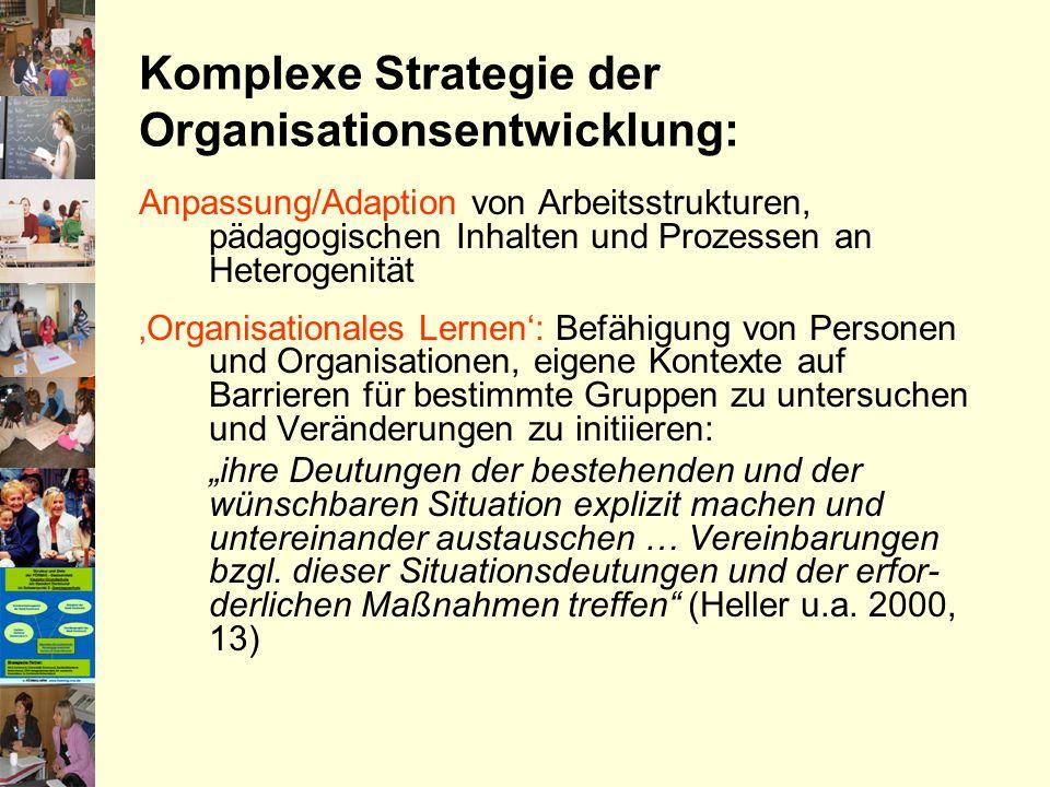 Komplexe Strategie der Organisationsentwicklung: