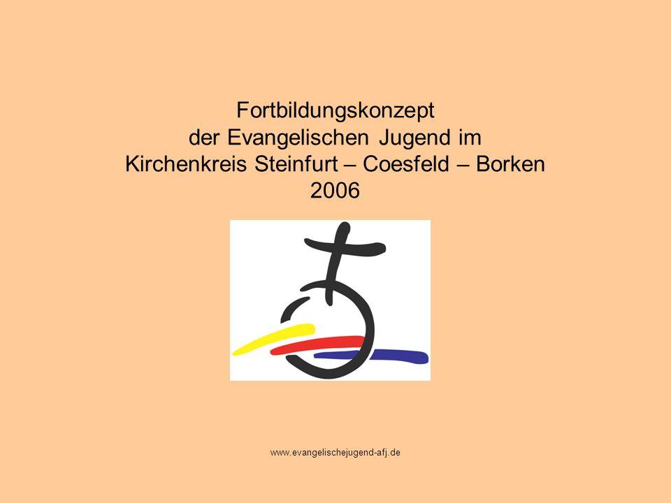 Fortbildungskonzept der Evangelischen Jugend im Kirchenkreis Steinfurt – Coesfeld – Borken 2006