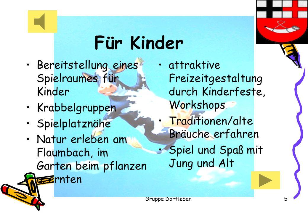 Für Kinder Bereitstellung eines Spielraumes für Kinder Krabbelgruppen