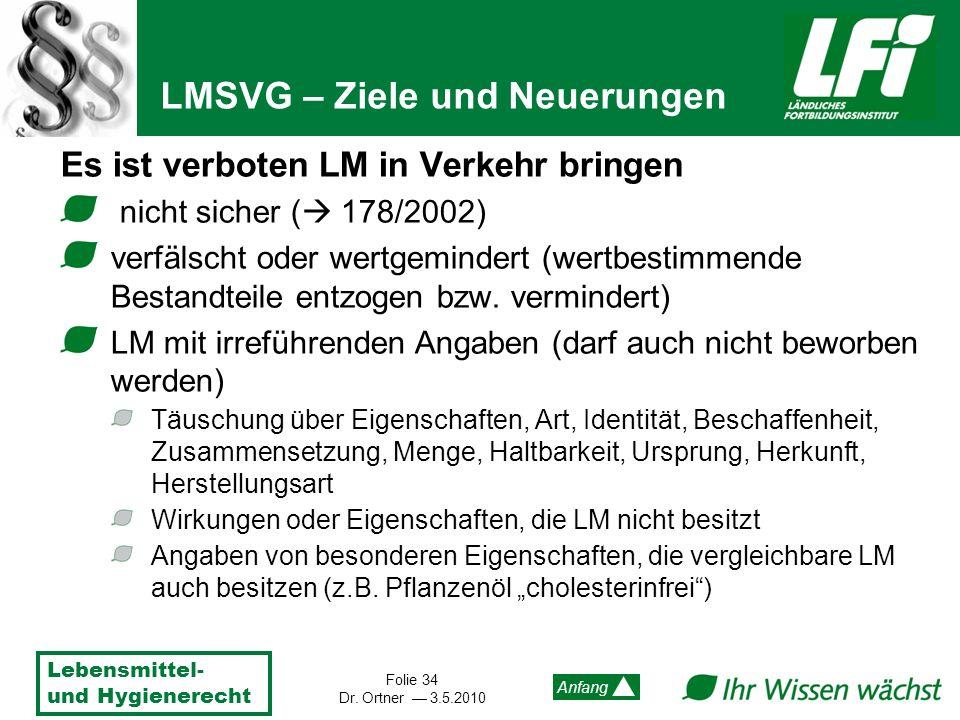 LMSVG – Ziele und Neuerungen