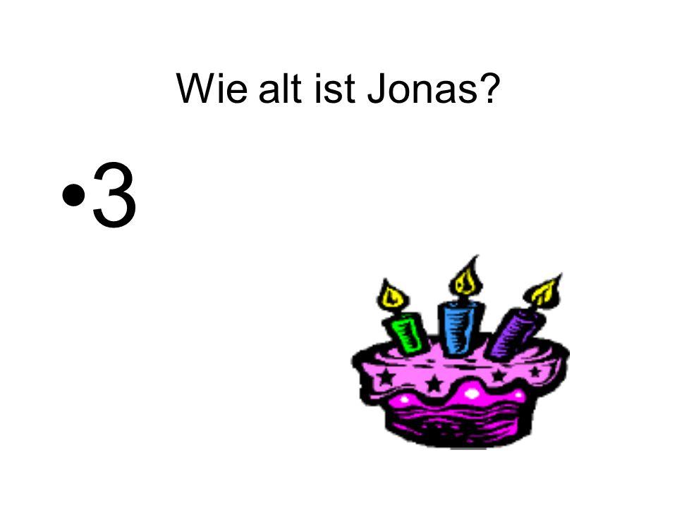 Wie alt ist Jonas 3