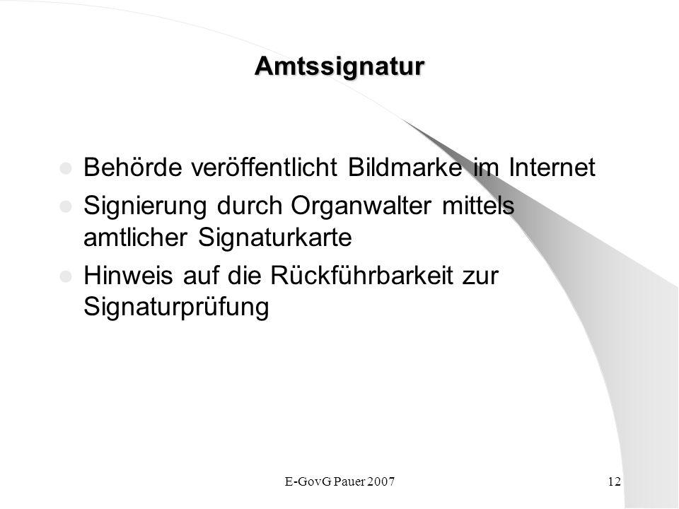 Behörde veröffentlicht Bildmarke im Internet