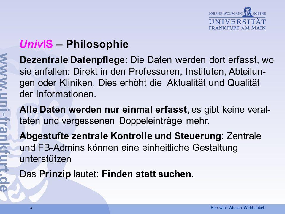 UnivIS – Philosophie