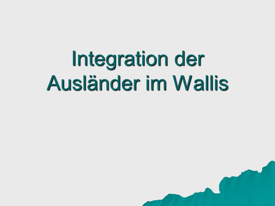 Integration der Ausländer im Wallis