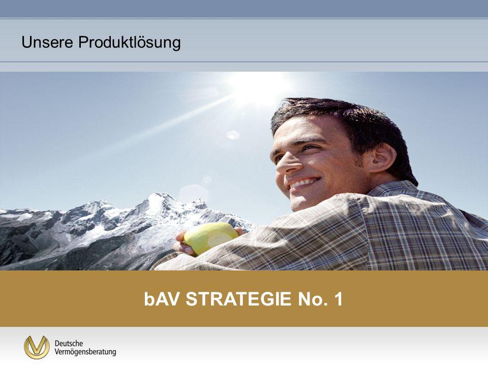Unsere Produktlösung bAV STRATEGIE No. 1