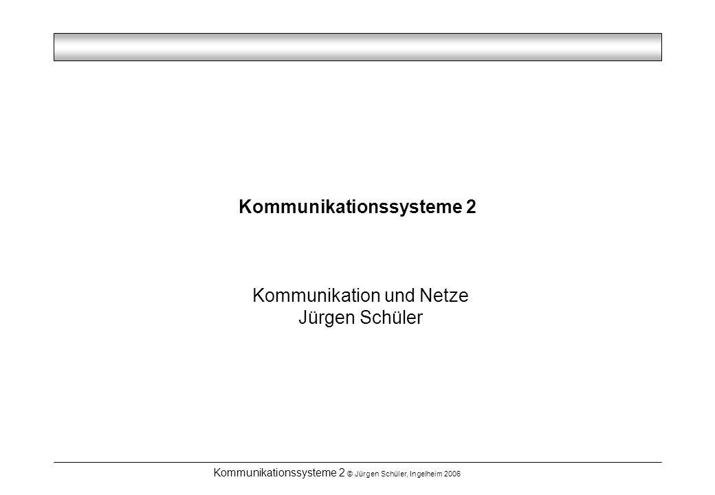 Kommunikationssysteme 2