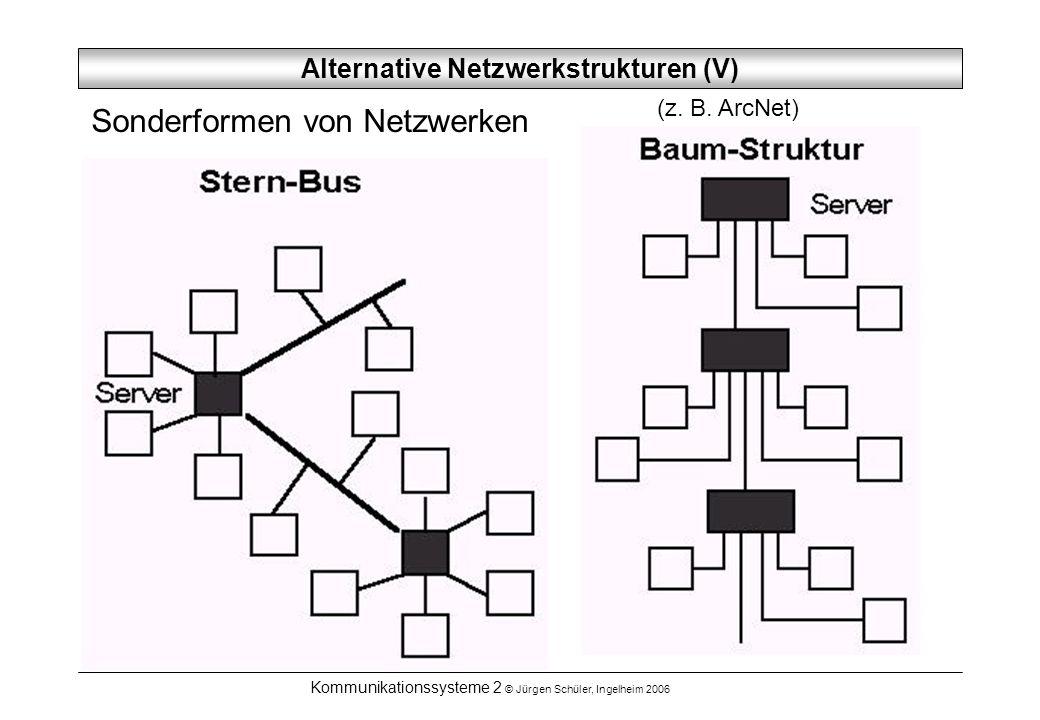 Alternative Netzwerkstrukturen (V)