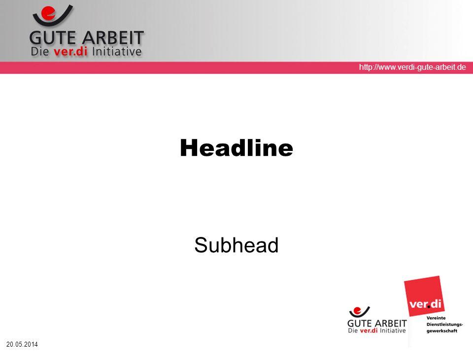 Headline Subhead 31.03.2017