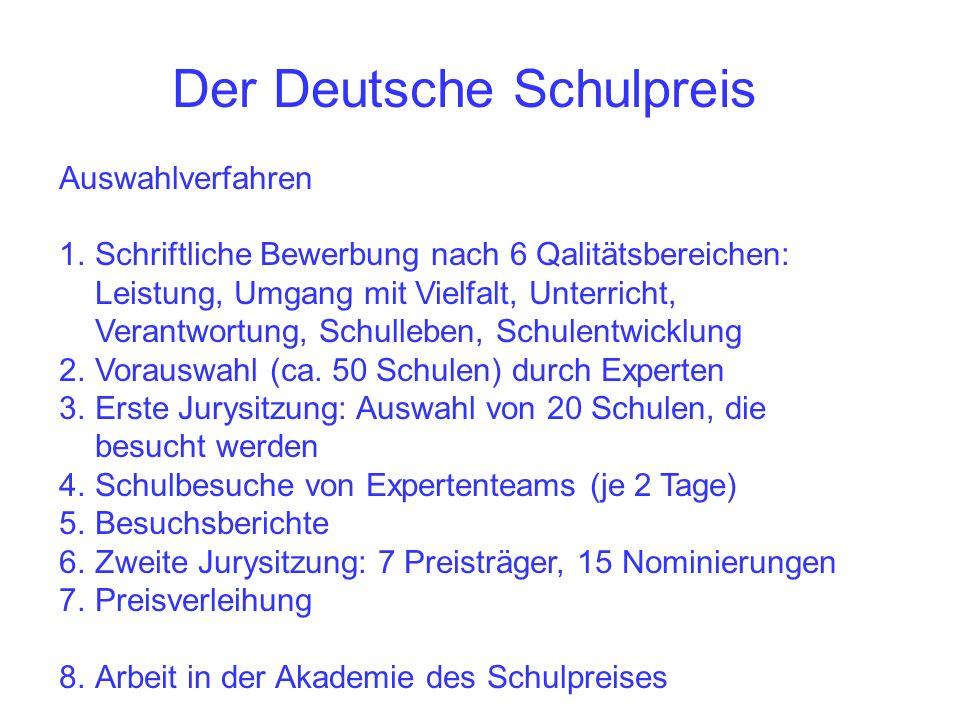 Der Deutsche Schulpreis