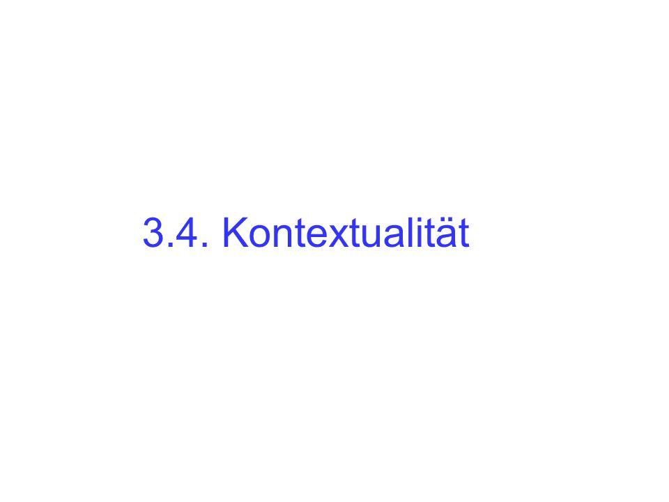 3.4. Kontextualität