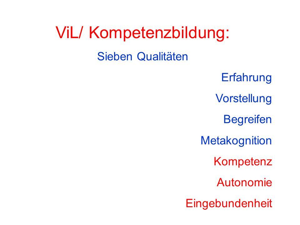 ViL/ Kompetenzbildung: