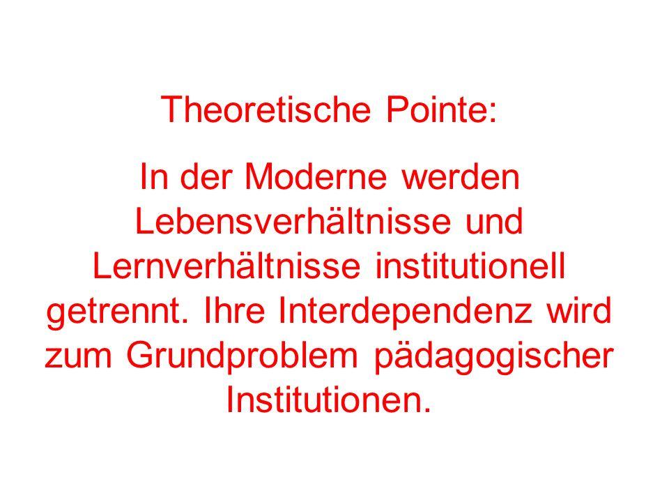 Theoretische Pointe: