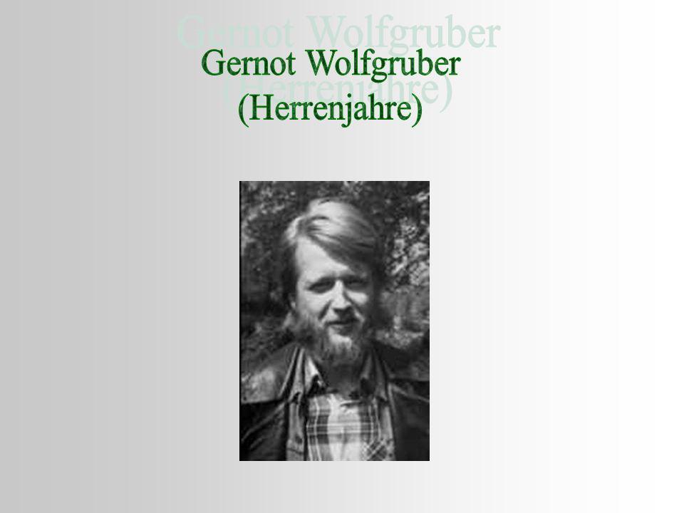 Gernot Wolfgruber (Herrenjahre)