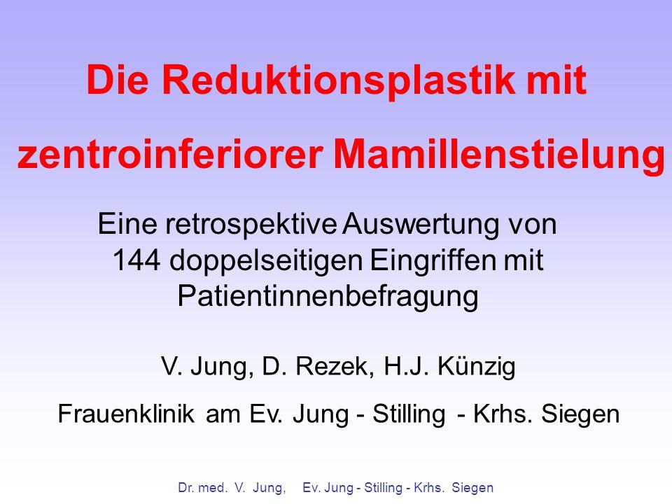 Die Reduktionsplastik mit zentroinferiorer Mamillenstielung