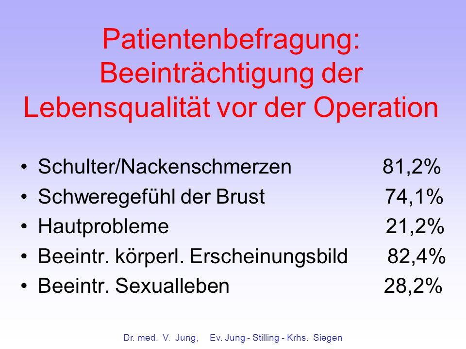 Dr. med. V. Jung, Ev. Jung - Stilling - Krhs. Siegen