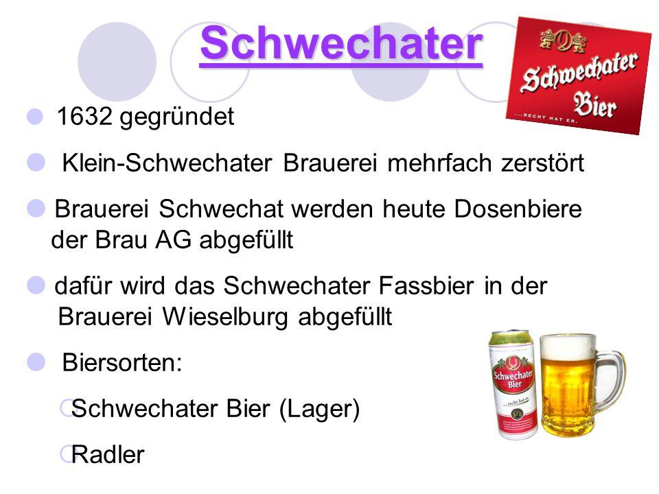 Schwechater Klein-Schwechater Brauerei mehrfach zerstört