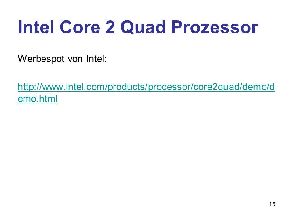 Intel Core 2 Quad Prozessor