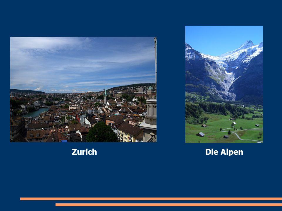 Zurich Die Alpen
