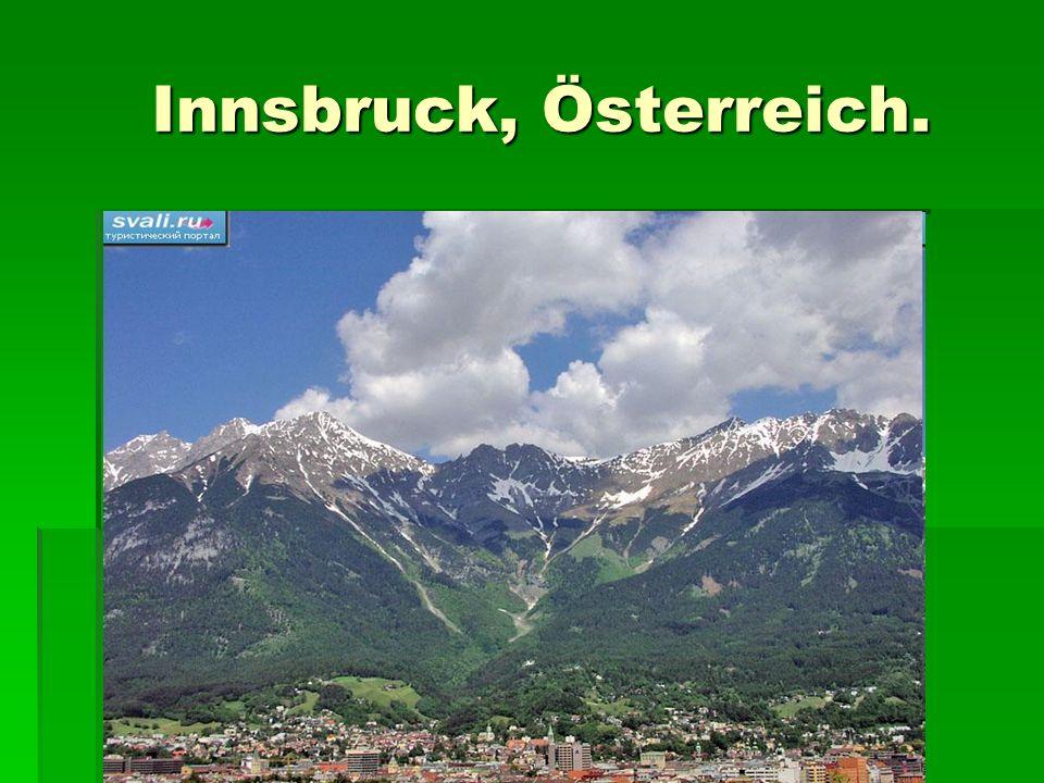 Innsbruck, Österreich.